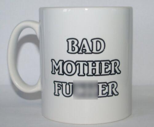 ker Amusant//Nouveauté Grossier//Offensive Blague Imprimé Thé//Tasse à café Bad Mother Fu