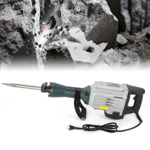 3,2KW Stemmhammer Meißelhammer Schlaghammer Abbruchhammer Demolition Hammer DE