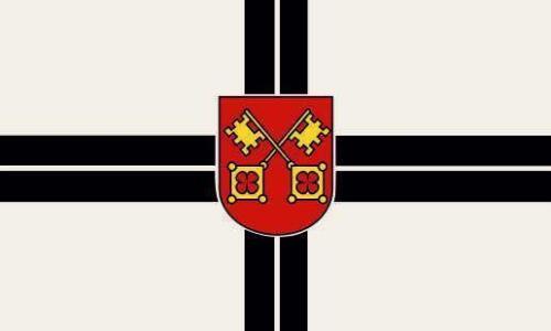 Fahne Flagge Zülpich 80 x 120 cm Bootsflagge Premiumqualität