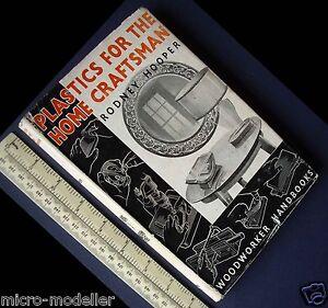 1953 Plastiques Pour La Maison Artisan. Rétro Vintage Livre De Travaux. Très Intéressant-age Retro Hobby Book. Very Interesting Fr-fr Afficher Le Titre D'origine