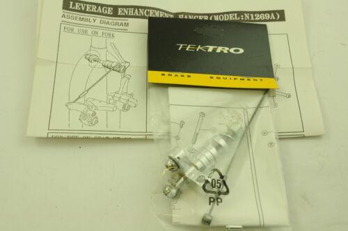 TEKTRO CANTI-LEVER BRAKE POWER BOOSTER FOR FRONT FORK MOUNTAIN BIKE ETC SILVER