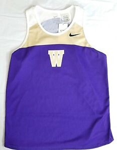 Nike-Washington-Huskies-Track-Jersey-Tank-Top-399626-Women-039-s-Medium