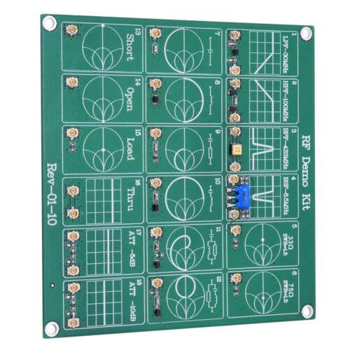 RF Demo NanoVNA RF Test Module Vector Network Analyzer Board Filter //Attenuator