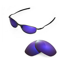 New Walleva Polarized Purple Replacement Lenses For Oakley Tightrope Sunglasses