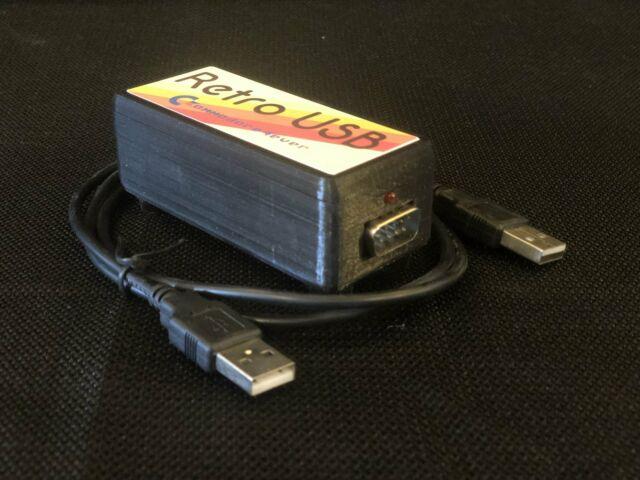 Retro USB Joystick to USB adapter Commodore 64 Atari 2600