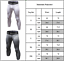 Men-3-4-Compression-Pants-Base-Layer-Sports-Fitness-Gym-Workout-Trousers-Tights thumbnail 2