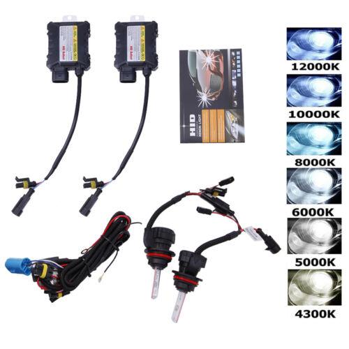 H1 H3 H4 H7 H11 9005 9006 880//881 HID Xenon Headlight Conversion Bulbs Kit 55W