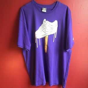 Shirt Men Nike Purple Force White Air Xl ClassicEbay One ChxsrtQd
