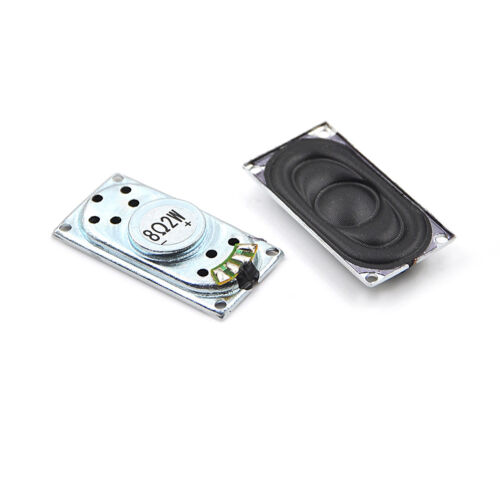 2Pcs Audio Portable Speakers 2040 8Ohm 2W Notebook Speaker DIY Computer EC
