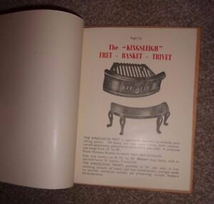 Fireplace-Castings-Catalgoue-amp-Price-List-Birmingham-Steel-Co-Ltd-1952