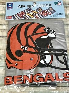 Vintage-NFL-Beach-Club-Air-Mattress-Cincinnatti-Bengals-SEALED-In-Original-Pack