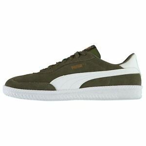 Puma Suede Rainbow Glow Sneaker Uomo Lacci Scarpe nero Pelle 352541 02 U65