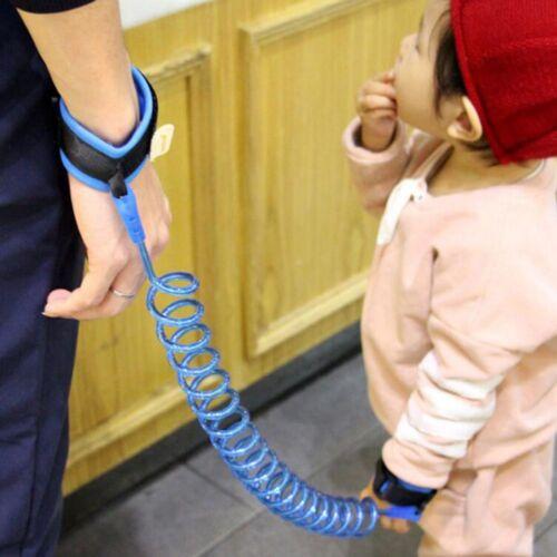 1pc enfant de Sécurité Marche Harnais Anti-perdu Bracelet poignet Leash Main Ceinture