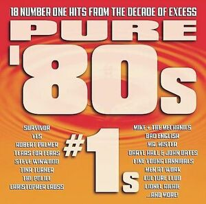 Pure-80-039-s-1s-Various-Artists-Compilation-brand-new-condition