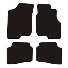 Kia pro ceed (2008-2012) Black Checker Rubber Tailored Car Floor Mats
