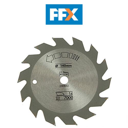 Black and Decker X13000 Circular Saw Blade Rip 140mm x 12.7mm x 14T