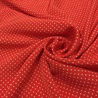 100% pure silk Crepe DE chine fabric White orange red polka dot pattern,SCDC428