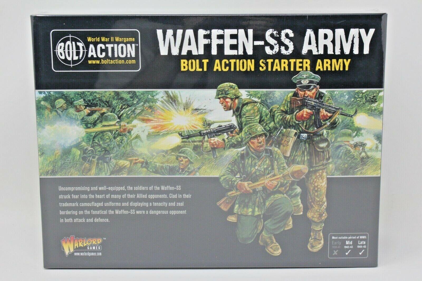 Perno de acción Waffen-SS Ejército Ejército De Arranque Nuevo