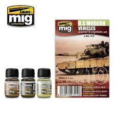 ARMOR CAMOUFLAGE SET Cod.AMIG7119 AMMO OF MIG WAR GAMERS U.S