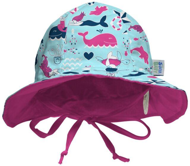 aca765864cb My Swim Baby Sun Hat Medium Little Mermaids for sale online