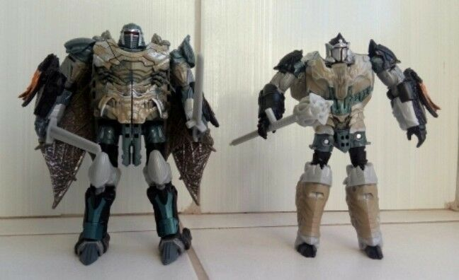 Transformers mv5 tlk the last knight Dragonstorm Leader classe 2 in 1 no scatola