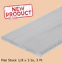 Aluminum Bar Flat Stock 1//8 x 3 Inch x 3 Ft Alloy 6061 Unpolished Sheets NEW