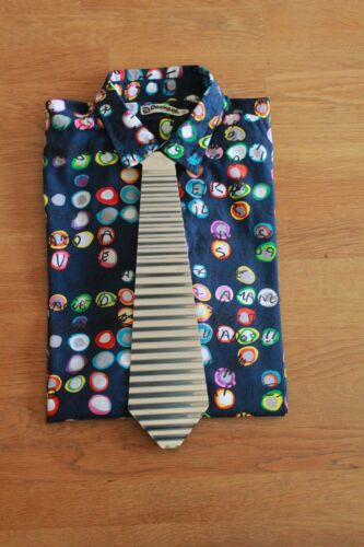 Washboard Tie neu 0,5 mm Waschbrett Krawatte Schlips Verzinktes Stahl