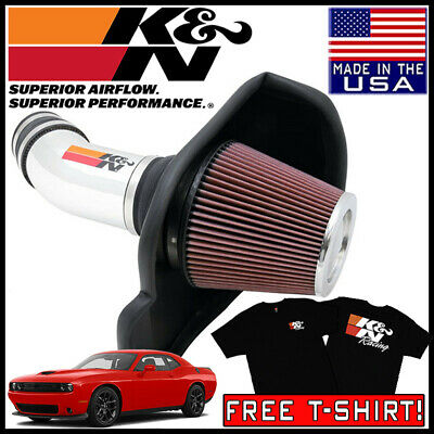 Fits Dodge Challenger 2011-2018 6.4L K/&N 63 Series Aircharger Cold Air Intake