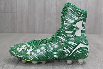 Under Armour UA Highlight MC Mens Football Cleats 11 Green