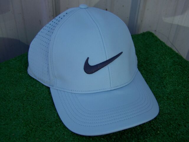 6a485a7f42a Nike Golf Women s Sky Blue Aerobill Adjustable Light Perforated Golf Hat Cap  NEW