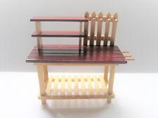 GARDEN PLANTER Trellis Box dollhouse miniature furniture 1//12 scale T5465 wood