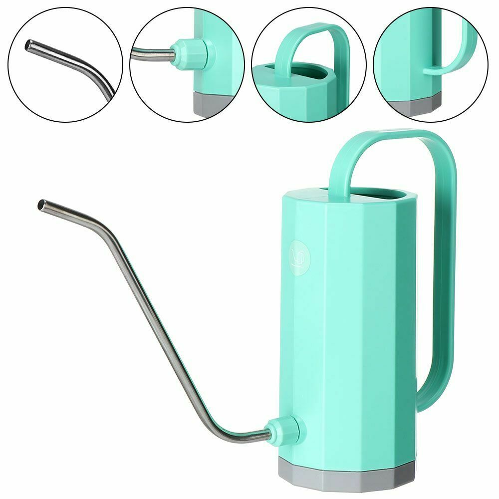 1200ML/1.2L Watering Can Stainless Steel Irrigation Pot Plants Sprinkler