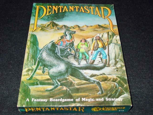 Juegos De Aventura  pentantaEstrella-una fantasía BoardJuego de magia y estrategia -  1