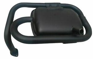 Black-Exhaust-Silencer-Muffler-150-Cc-For-Vespa-Lml-Star-4-Stroke-4T