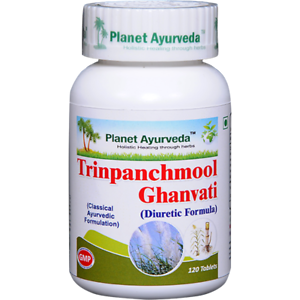 Planet-Ayurveda-Trinpanchmool-Ghan-Vati-120-Tablets-Free-Shipping