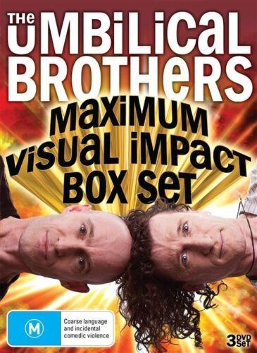 1 of 1 - The Umbilical Brothers - Maximum Visual Impact (DVD, 2013, 3-Disc Set) Sealed