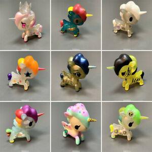 Raro Tokidoki Unicorno Metallico serie 3 Figura Pop MART Juguetes Lindo Regalo Chica