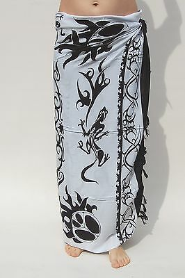 NEW UNISEX CELTIC DESIGN IN RED /& BLACK SARONG BEACH WRAP PAREO COVER UP sa048
