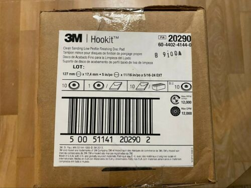 PRICE FOR 10 PCS BOX. 3M HOOKIT P\N 20290 CLEAN SANDING