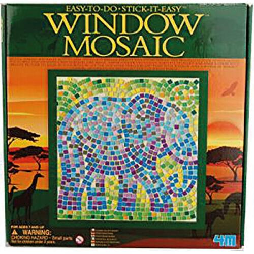 Fenster Mosaik Safari Elefant 26 x 26 cm HCM 664531 Window Mosaic NEU /& OVP