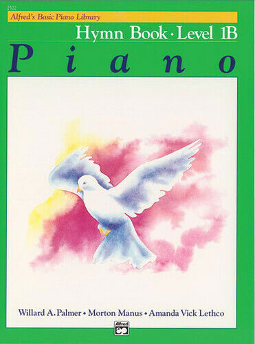 Alfred's Basic Piano Library: Hymn Book 1B Piano Book 2522