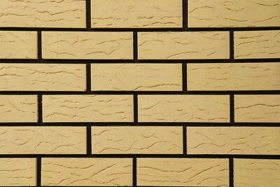 2019 Neuer Stil Celina-klinker-riemchen Nf Arosa Rustik Colorado-weiß-sand Postenware Noch Nicht VulgäR Baustoffe & Holz Klinker