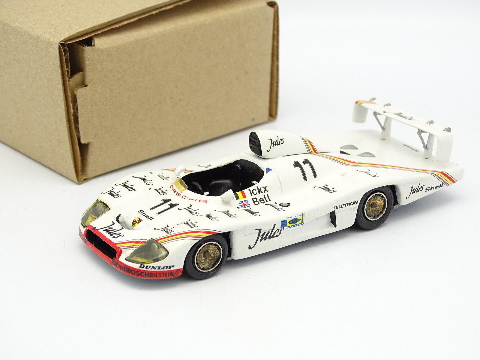 Mini Racing Kit Montato 1/43 - Porsche 936 Jules le Mans 1981 N.11