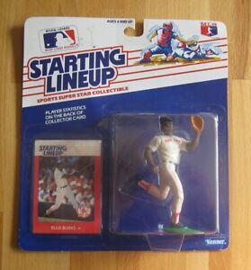 Ellis Burks--Boston Red Sox--1988 Kenner Starting Lineup Action Figure