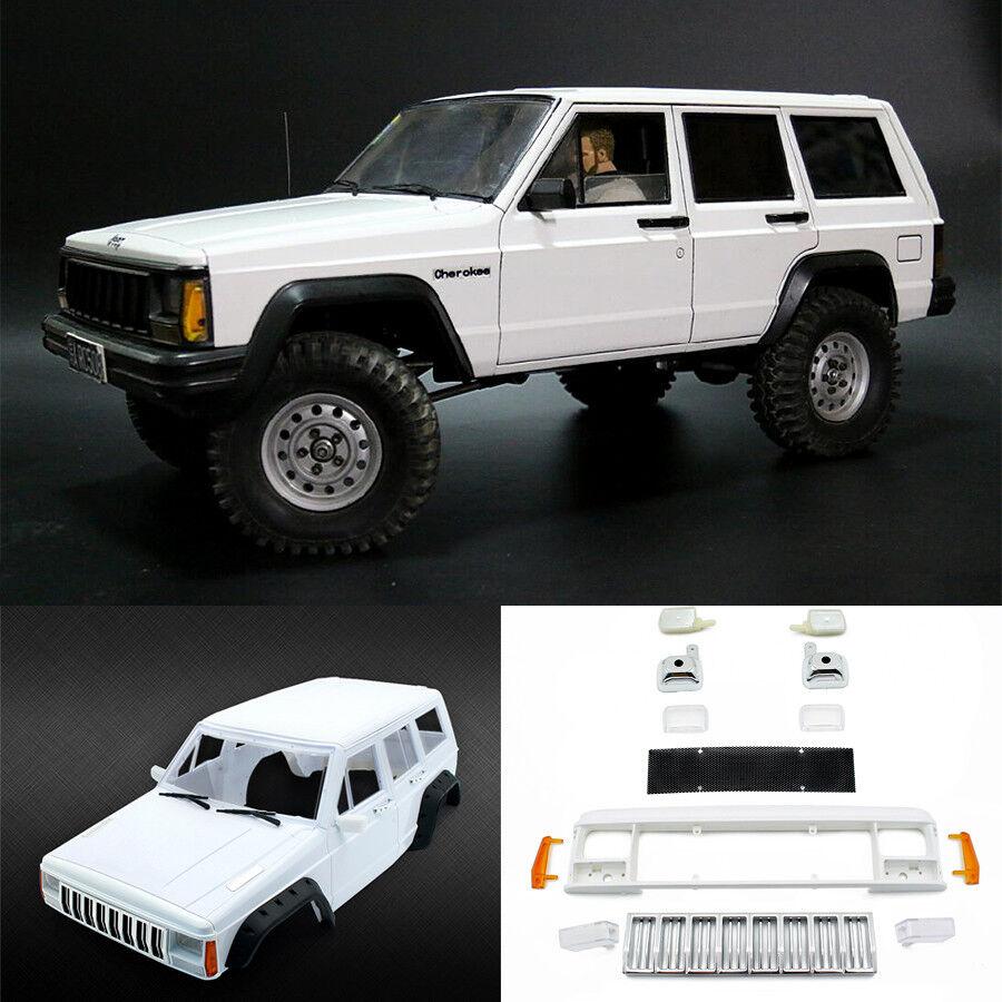 ABS Plástico Duro 313 mm Body Shell Para Radio Control 1 10 Cherokee XJ SCX10 Radio Control 4WD Coche Camión
