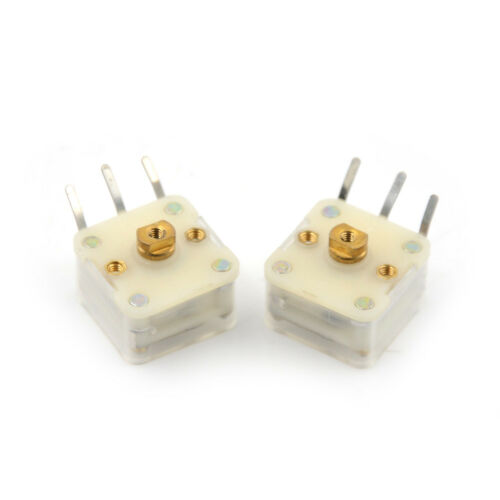 2Pcs 223F Style Dual 20pF Variable Capacitor for FM Radio CP