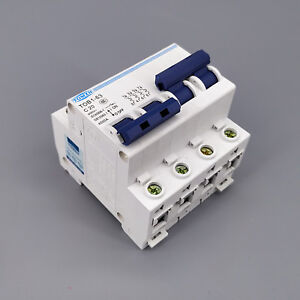 2P 20A MTS Dual power switch Manual transfer switch Circuit breaker MCB 50HZ/60H