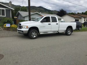 2005 Dodge Ram 3500 Diesel 4x4 May trade for halfton