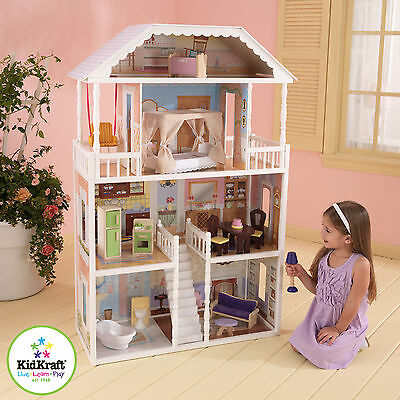 Kidkraft Savannah Dollhouse - ideal for Barbies, Bratz Dolls - wood
