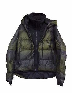 1932369d083c Nike Women s UPTOWN 550 DOWN COCOON Winter Jacket Loden Black 683926 ...